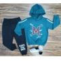 Conjunto Moletom College Athlete Infantil