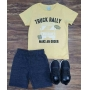 Conjunto Truck Rally Infantil