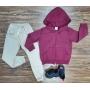 Jaqueta com Calça Jogger Infantil