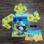 Kit Praia Mickey Mouse Amarelo Infantil