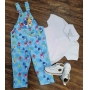 Look Longo Baby Shark Polo Infantil