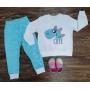 Pijama Cute Azul Infantil
