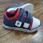Tênis Velcro Plus Azul com Vermelho Infantil