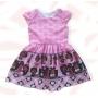 Vestido Poderosa Chefinha Rosa Infantil