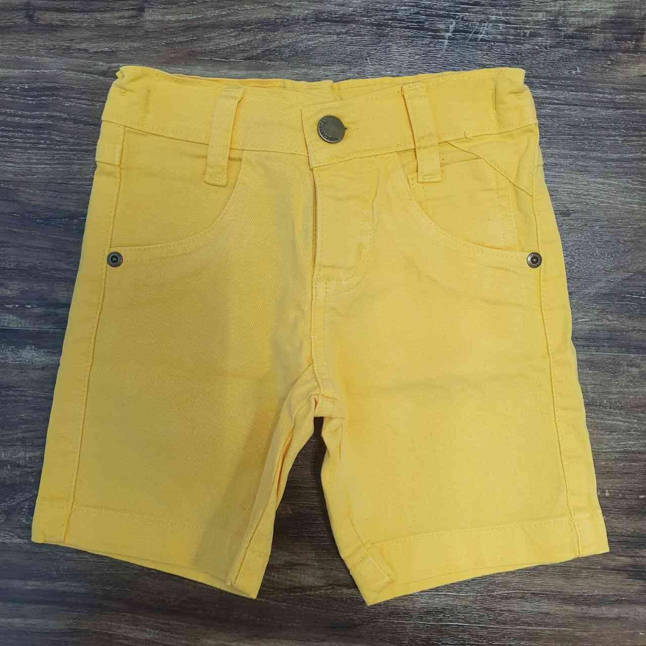 Bermuda Amarelo Infantil