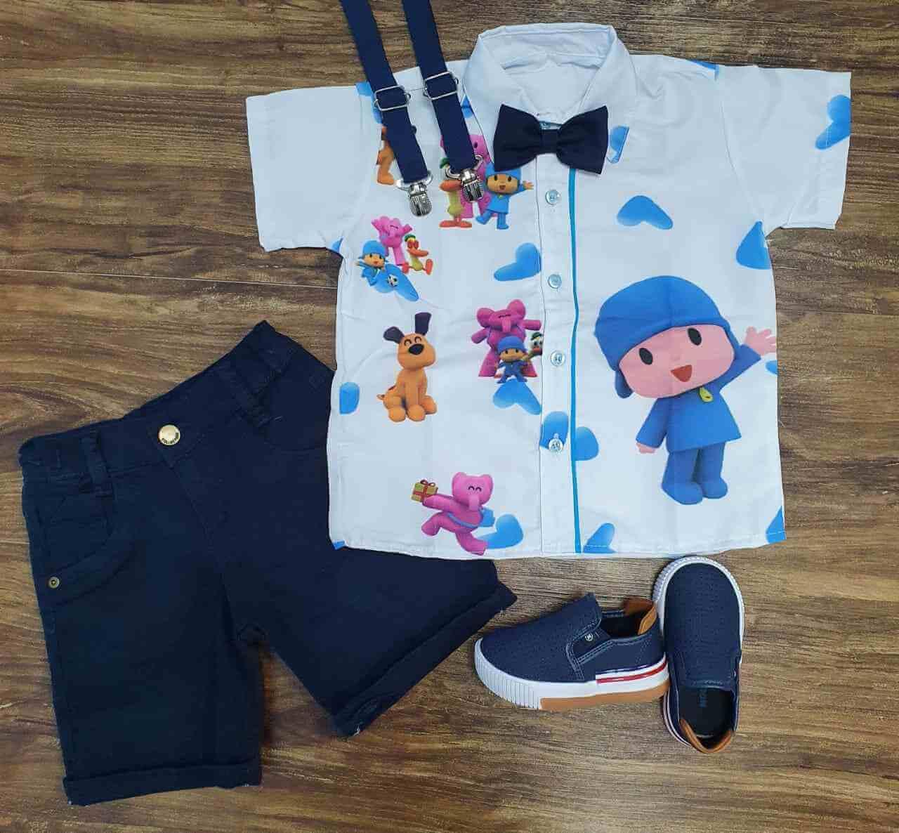Conjunto Azul Pocoyo Infantil