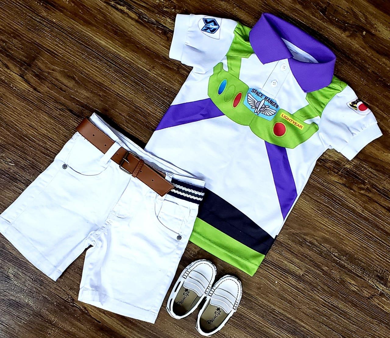 Roupa Buzz Lightyear - Toy Story Infantil