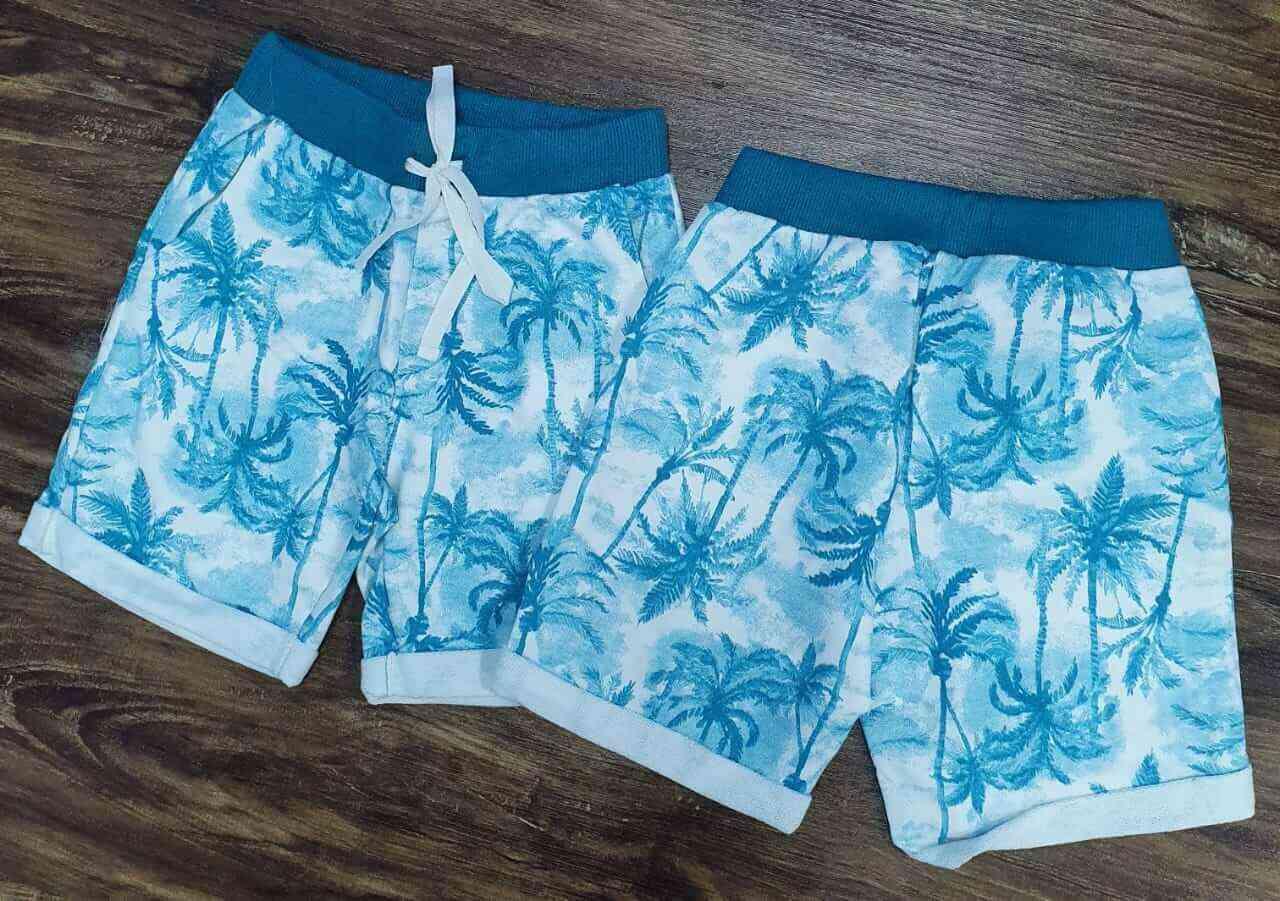 Bermuda Floral Infantil