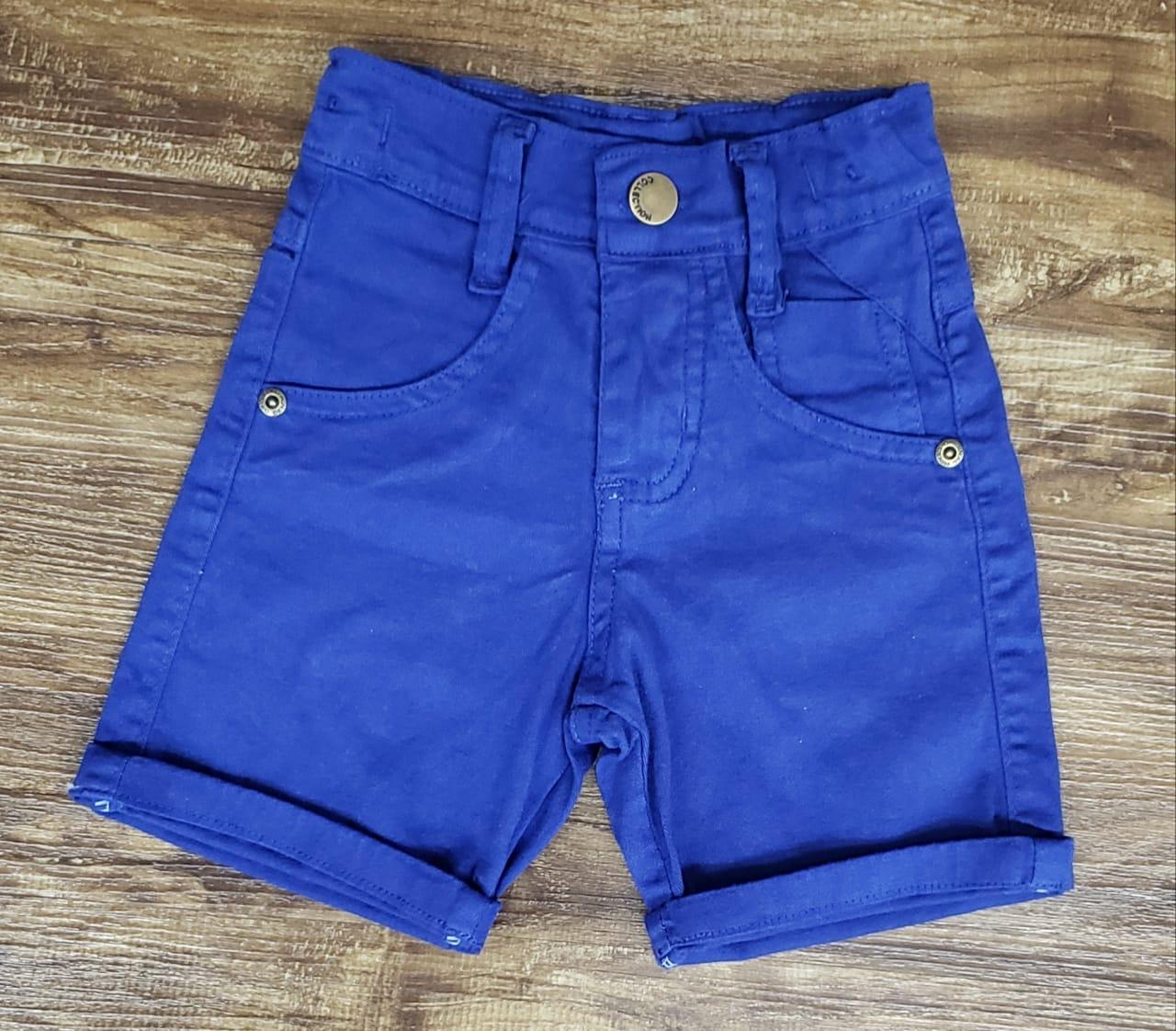 Bermuda Jeans Azul