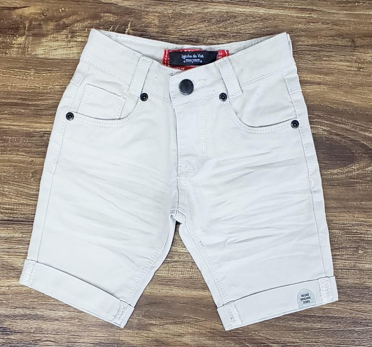Bermuda Jeans Nude