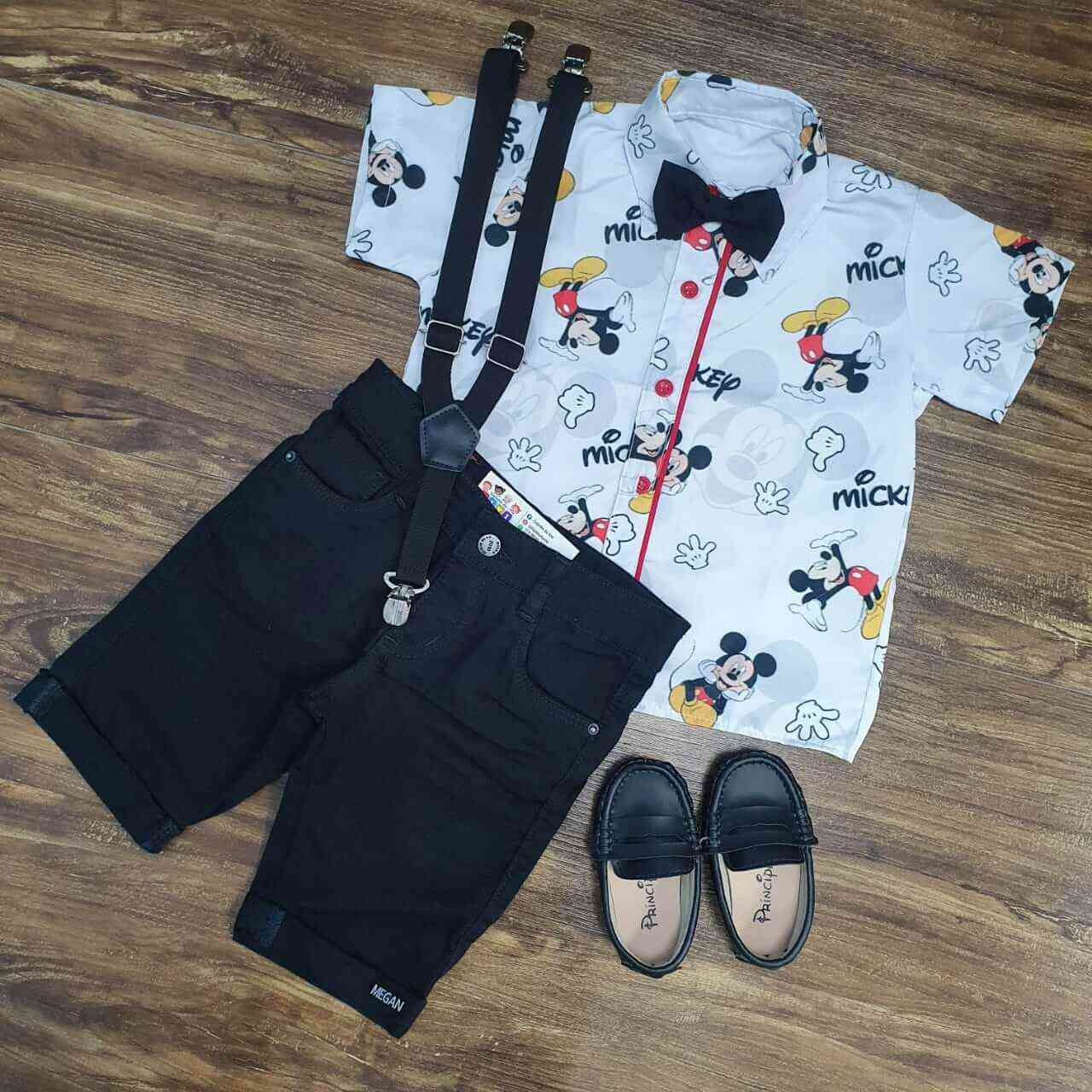 Roupa Mickey Menino Infantil
