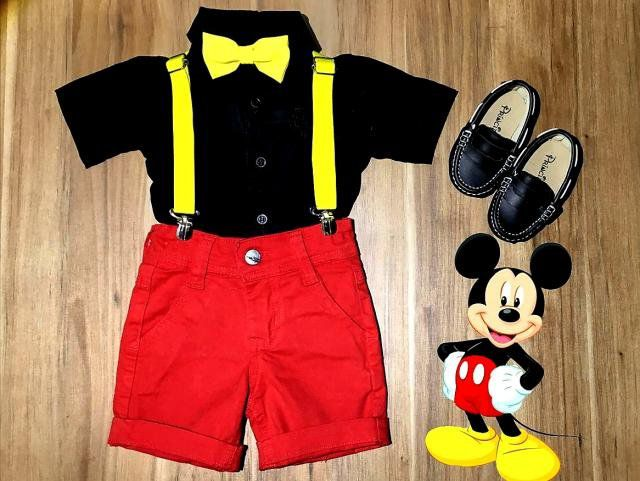 Roupa do Mickey