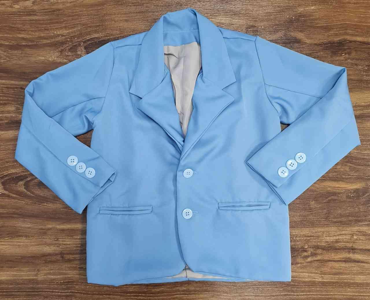 Blazer Azul Claro