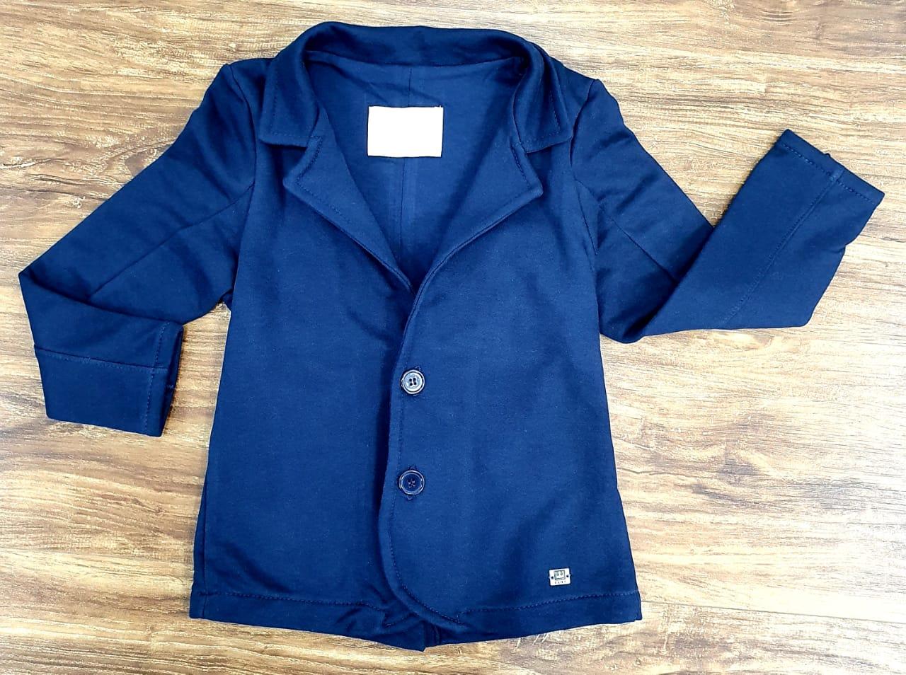 Blazer Infantil Azul Marinho