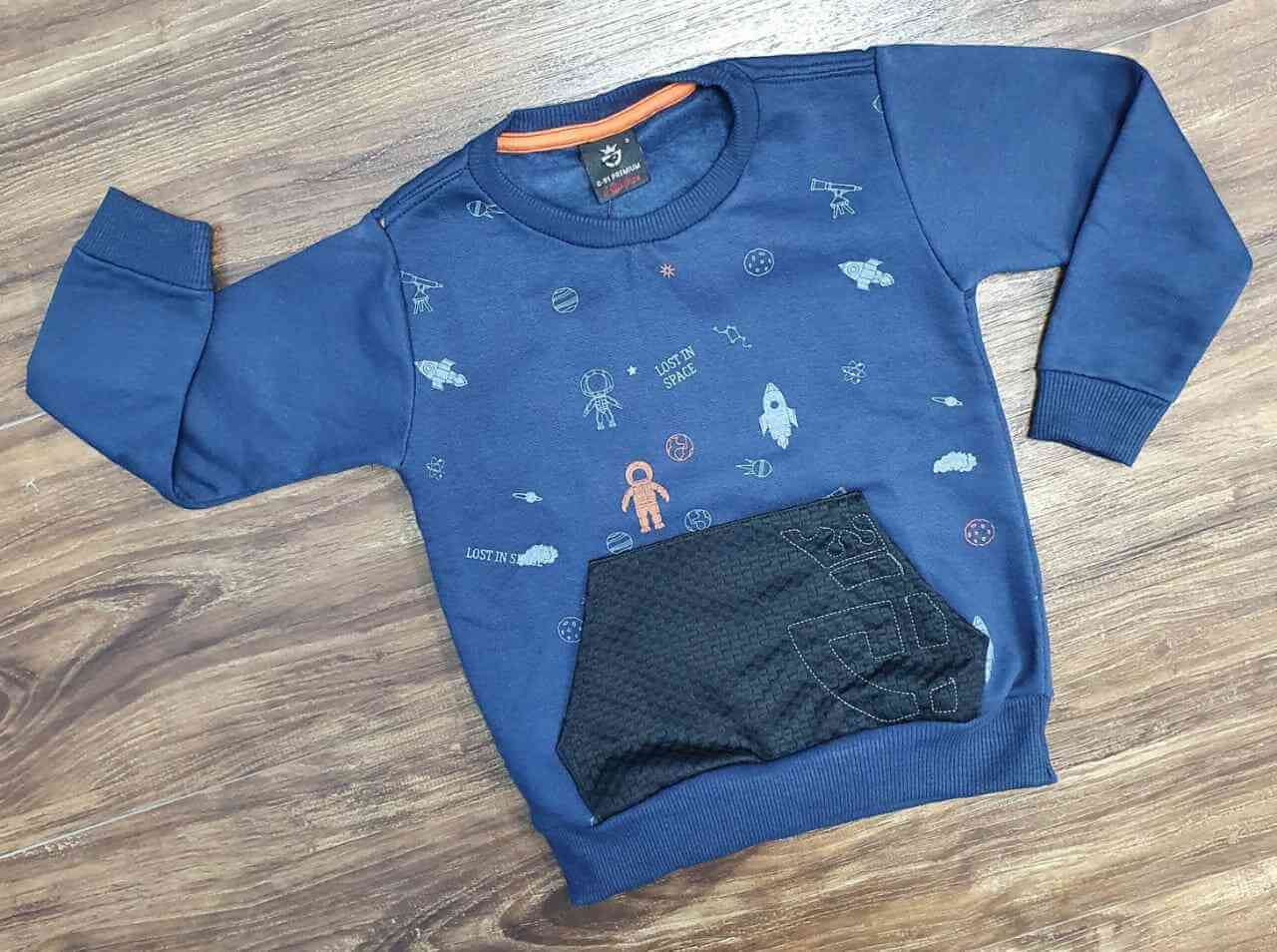 Blusa Astronauta Infantil