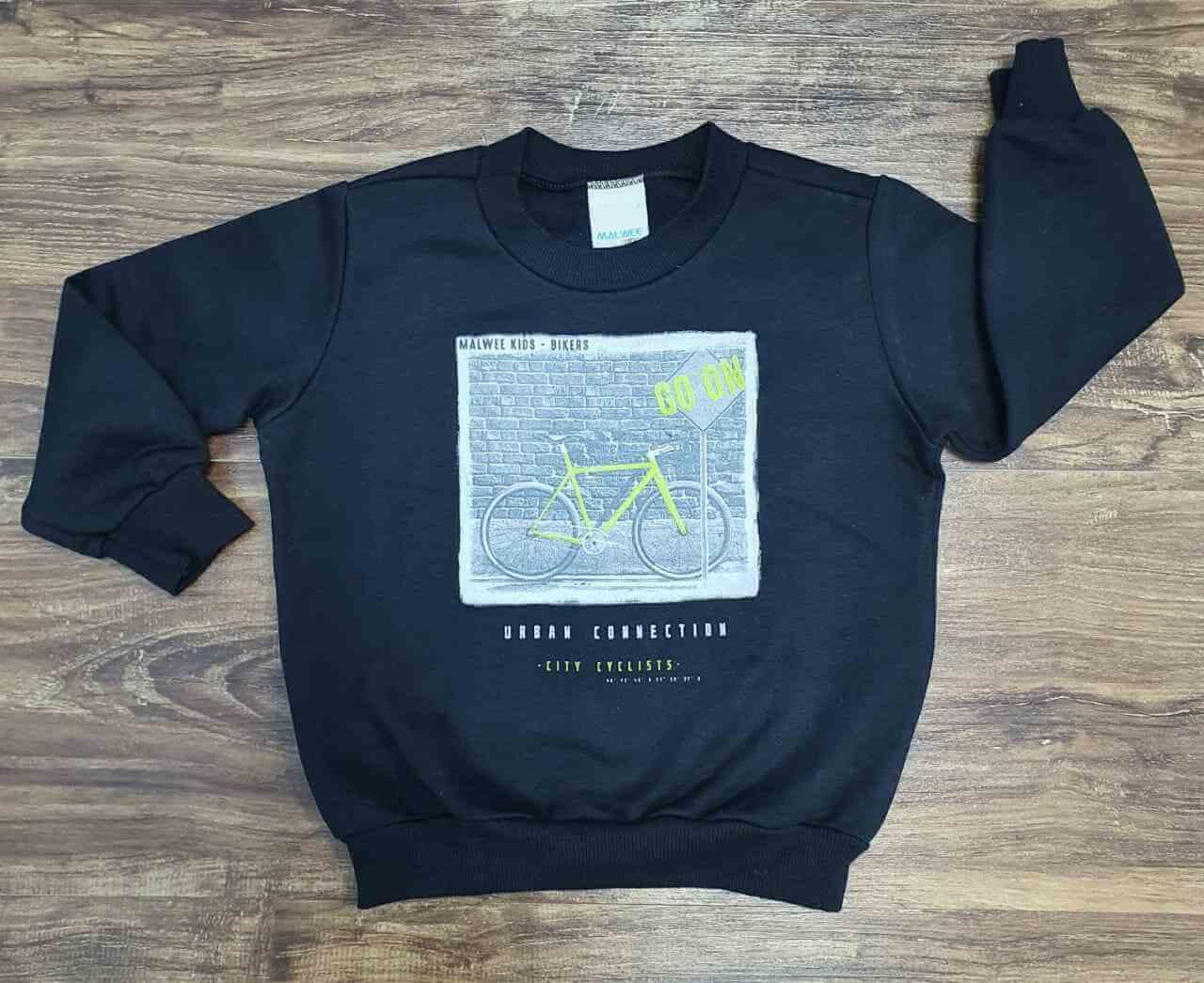 Blusa de Moletom Bike Infantil