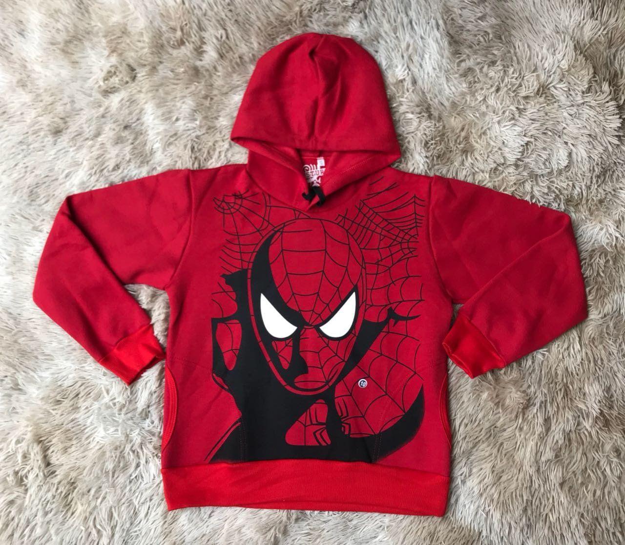 Blusa de Moletom Homem Aranha