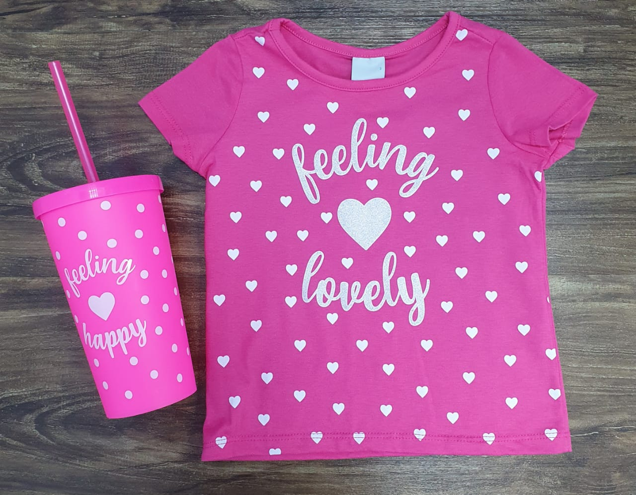 Blusa Feeling Lovely Infantil