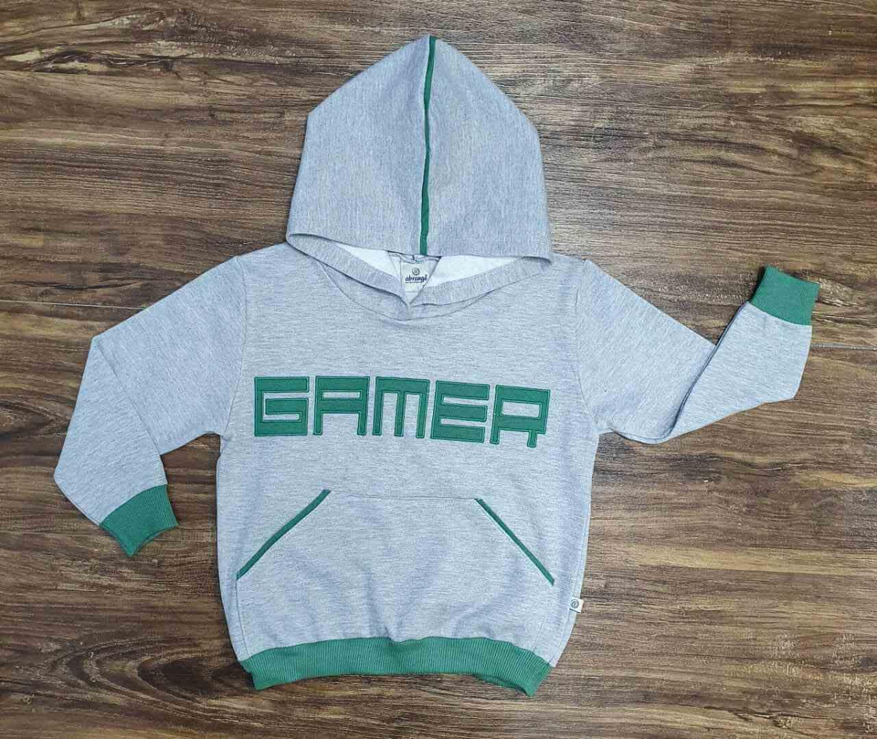 Blusa Gamer Infantil