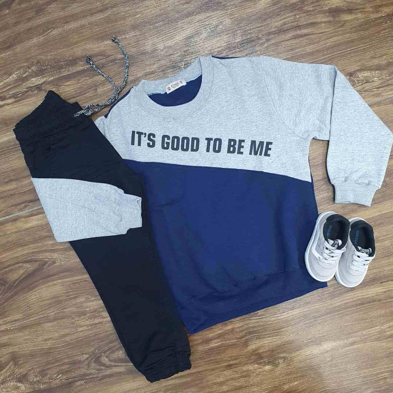 Blusa Good com Calça Infantil