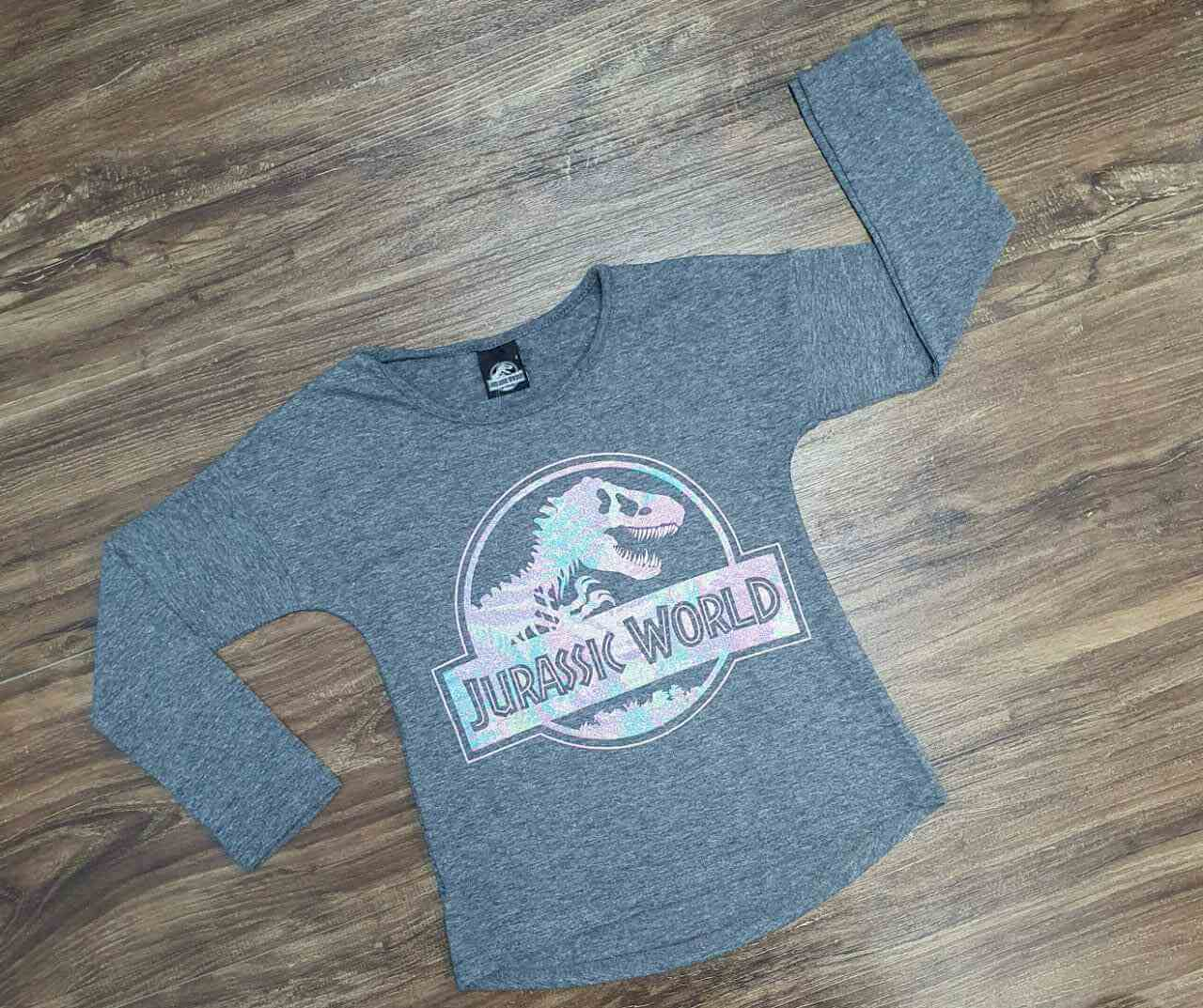 Blusa Jurassic World Infantil