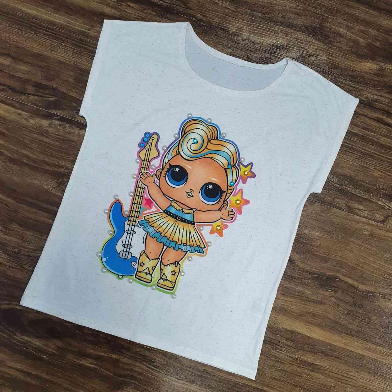 Blusa Lol Infantil