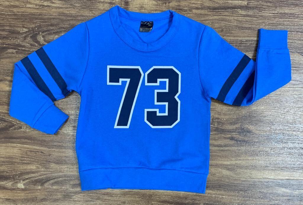 Blusa Moletom 73 Azul Infantil