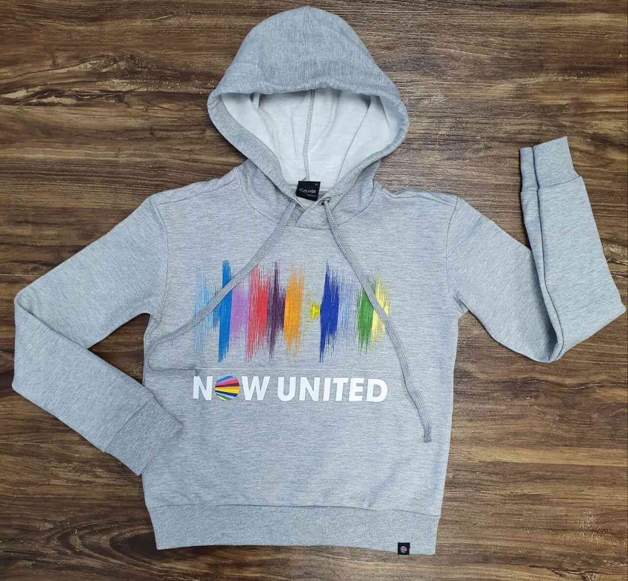 Blusa Moletom Now United Infantil