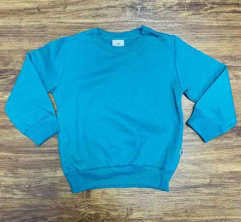 Blusa Moletom Verde Infantil