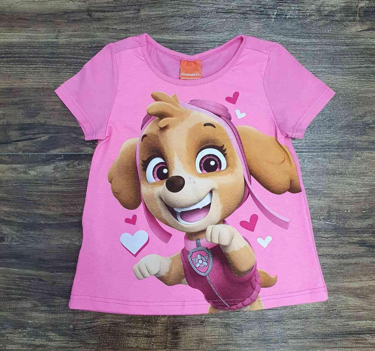 Blusa Patrulha Canina Infantil