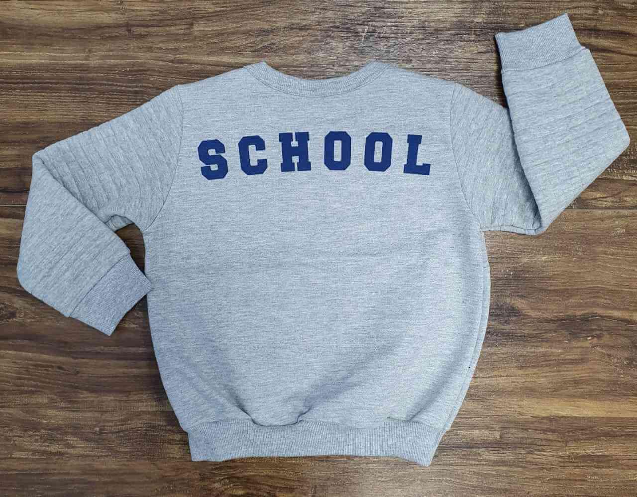 Blusa School Infantil