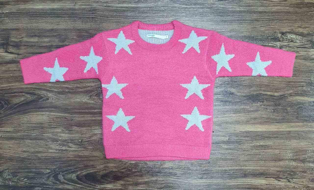 Blusa Star Rosa Infantil