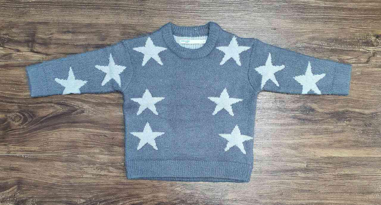 Blusa Star Cinza Infantil