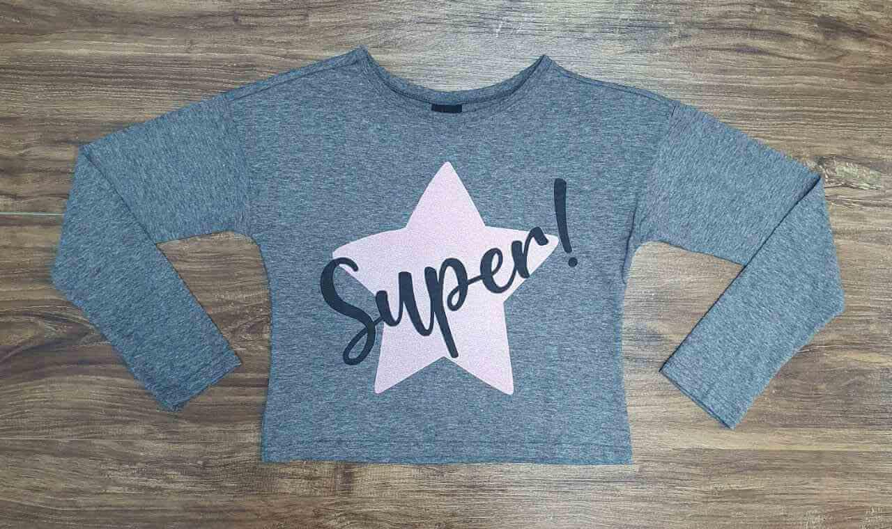 Blusa Super Infantil