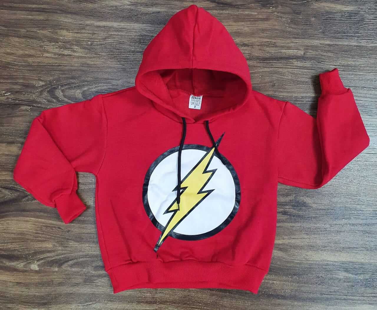 Blusa Moletom The Flash Infantil