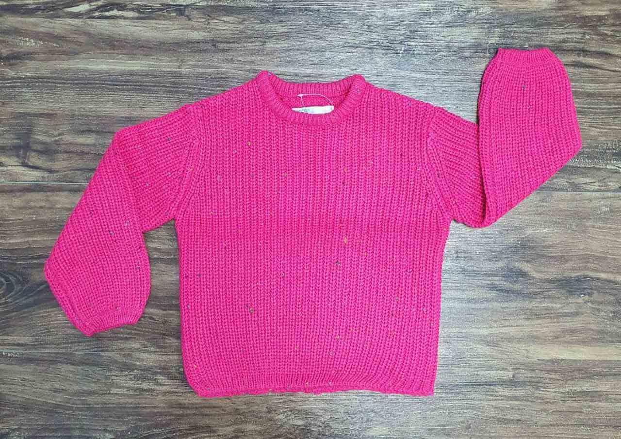Blusão knitting Infantil