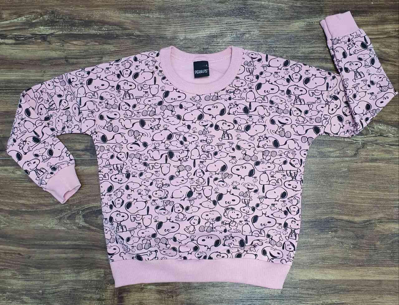 Blusão Snoopy Infantil