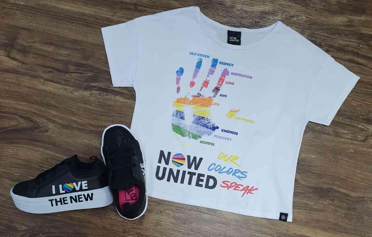 Blusinha Ampla United Infantil
