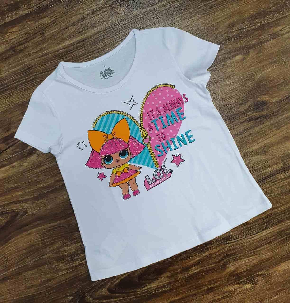 Blusinha Lol Surprise Infantil
