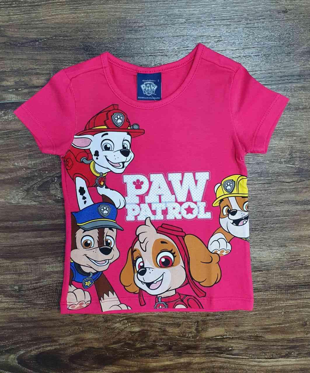 Blusinha Paw Patrol Infantil