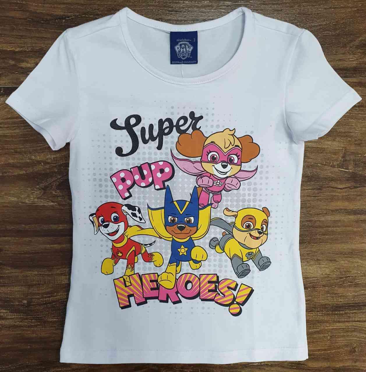 Blusinha Super Pup Heroes Infantil