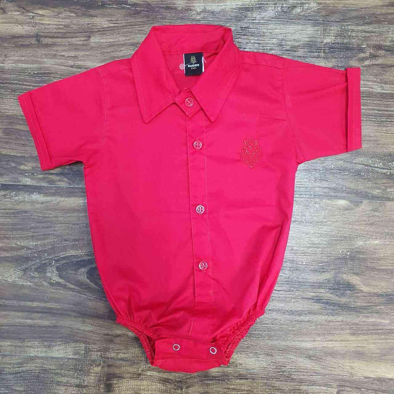 Boby Vermelho Infantil