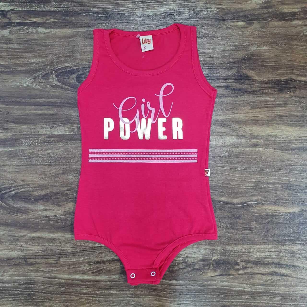 Body Girl Power Infantil