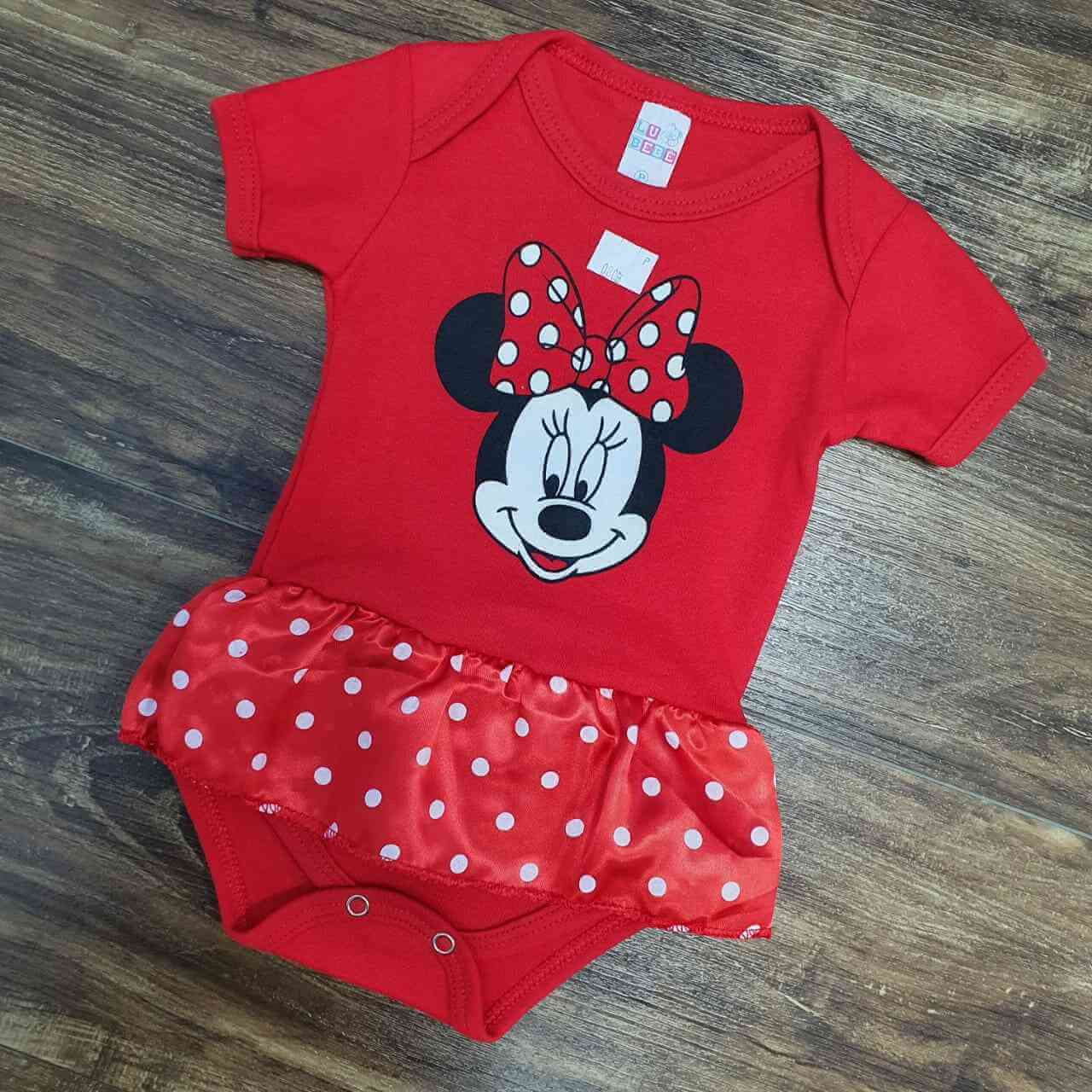 Body Minnie Infantil
