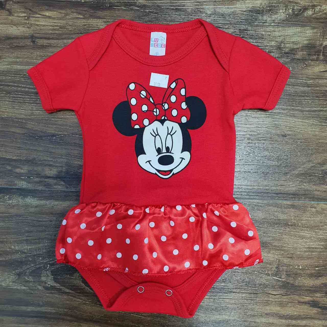 Body Minnie Infantil