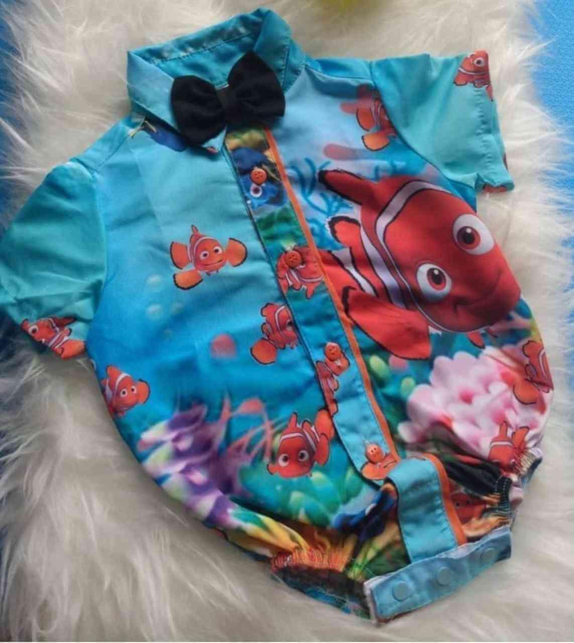 Body Procurando Nemo Infantil