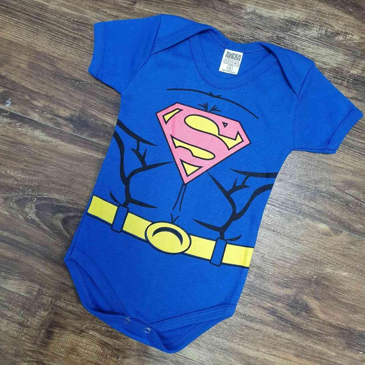 Body Super Man Infantil