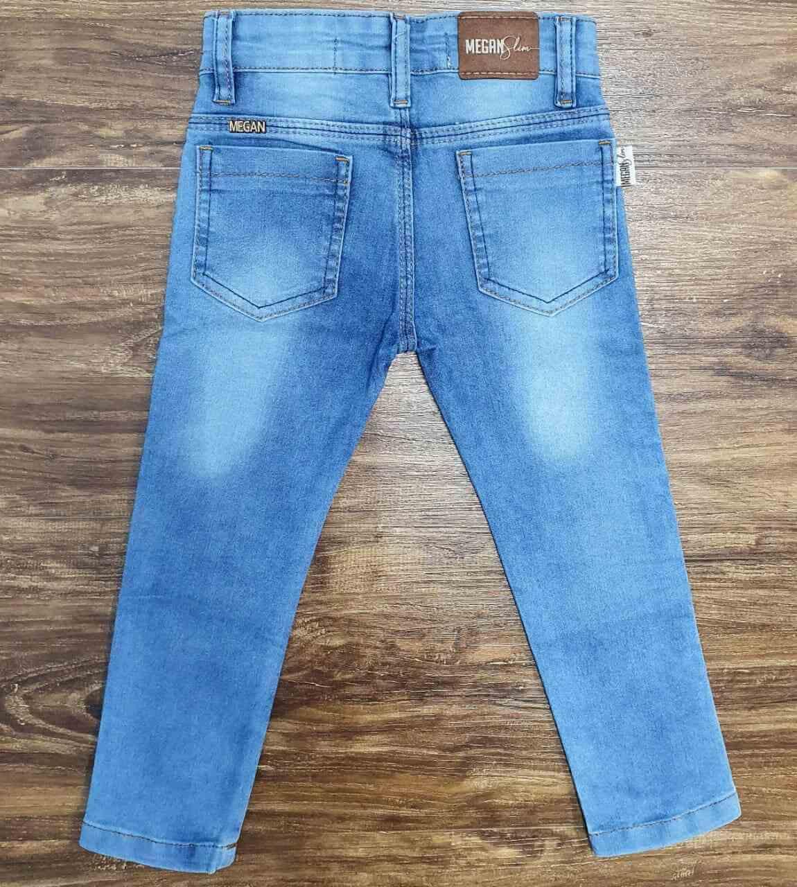 Calça Básica Jeans Infantil