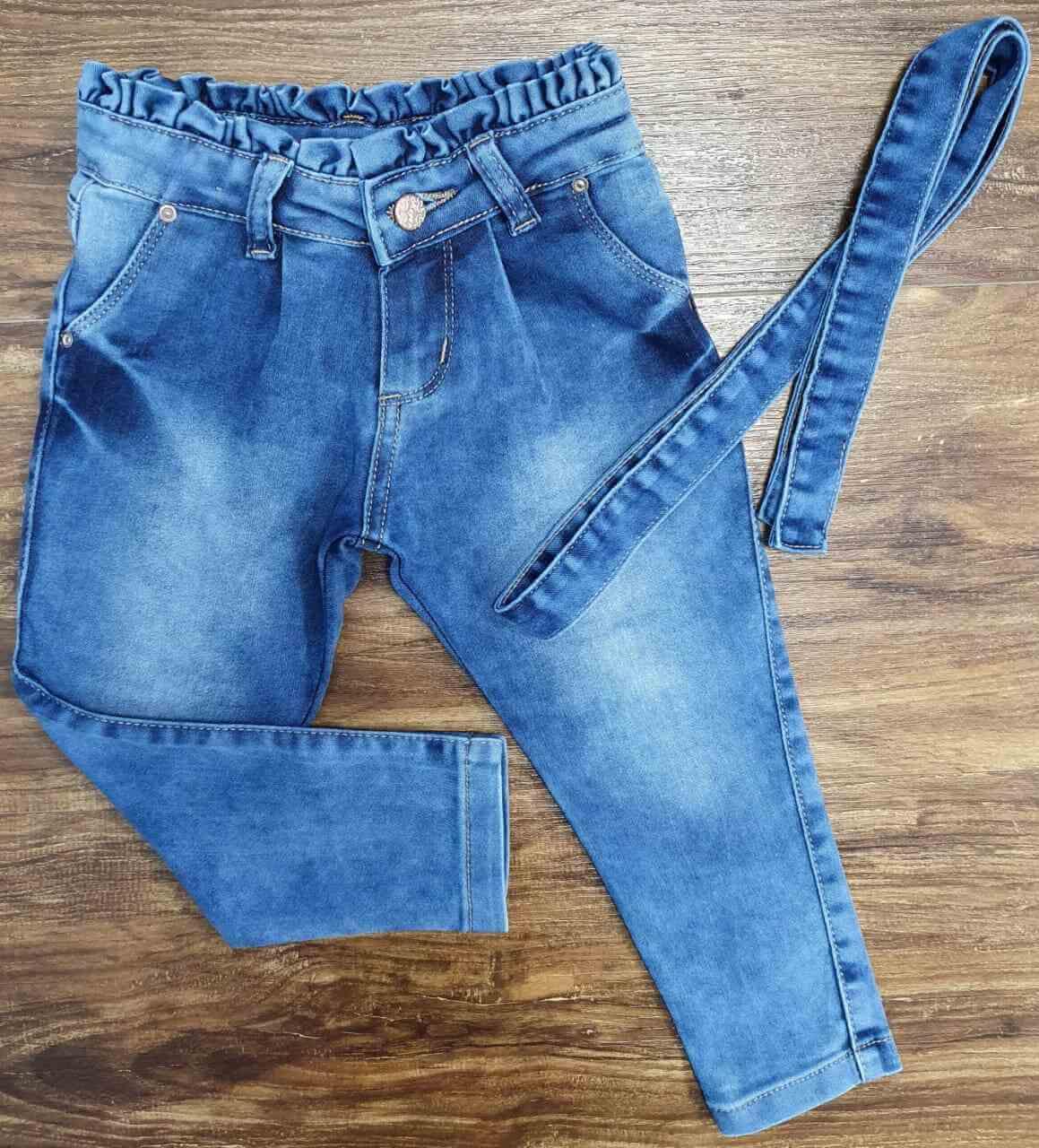 Calça Clochard Jeans Infantil