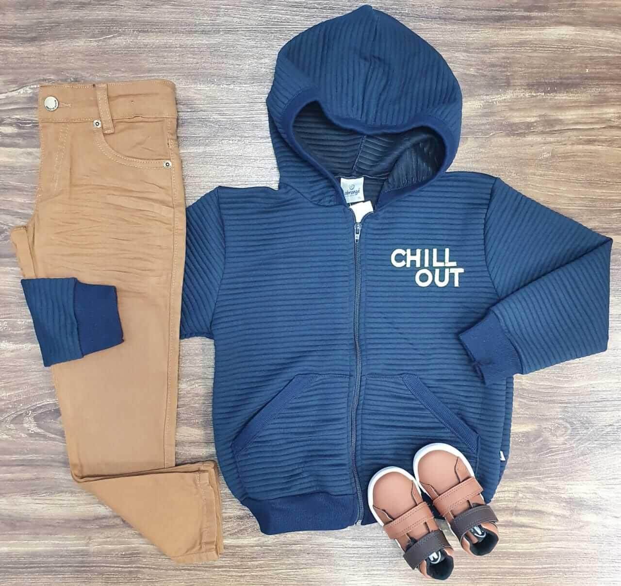 Calça com Blusa Chill Out Infantil